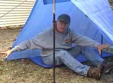 10 dollar tarp tent